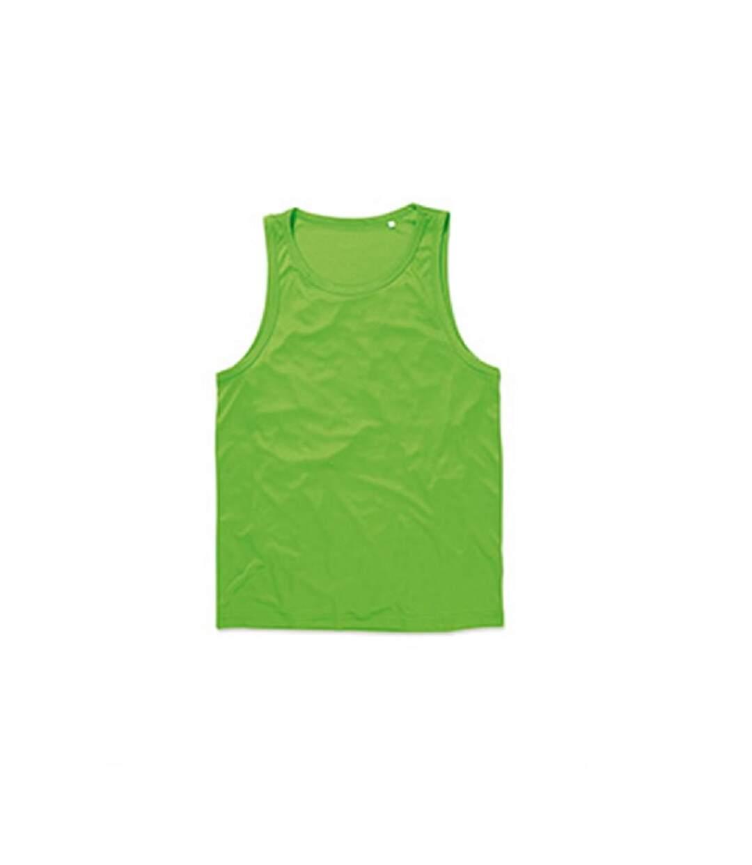Stedman Mens Active Poly Sports Vest (Kiwi Green) - UTAB333