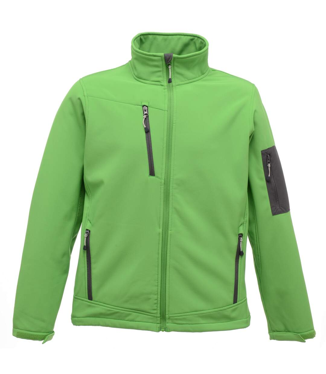 Regatta Standout Mens Arcola 3 Layer Waterproof And Breathable Softshell Jacket (Extreme Green/Seal Grey) - UTRG1461