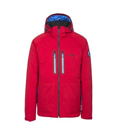 Trespass Mens Allen Waterproof Ski Jacket (Red) - UTTP4356