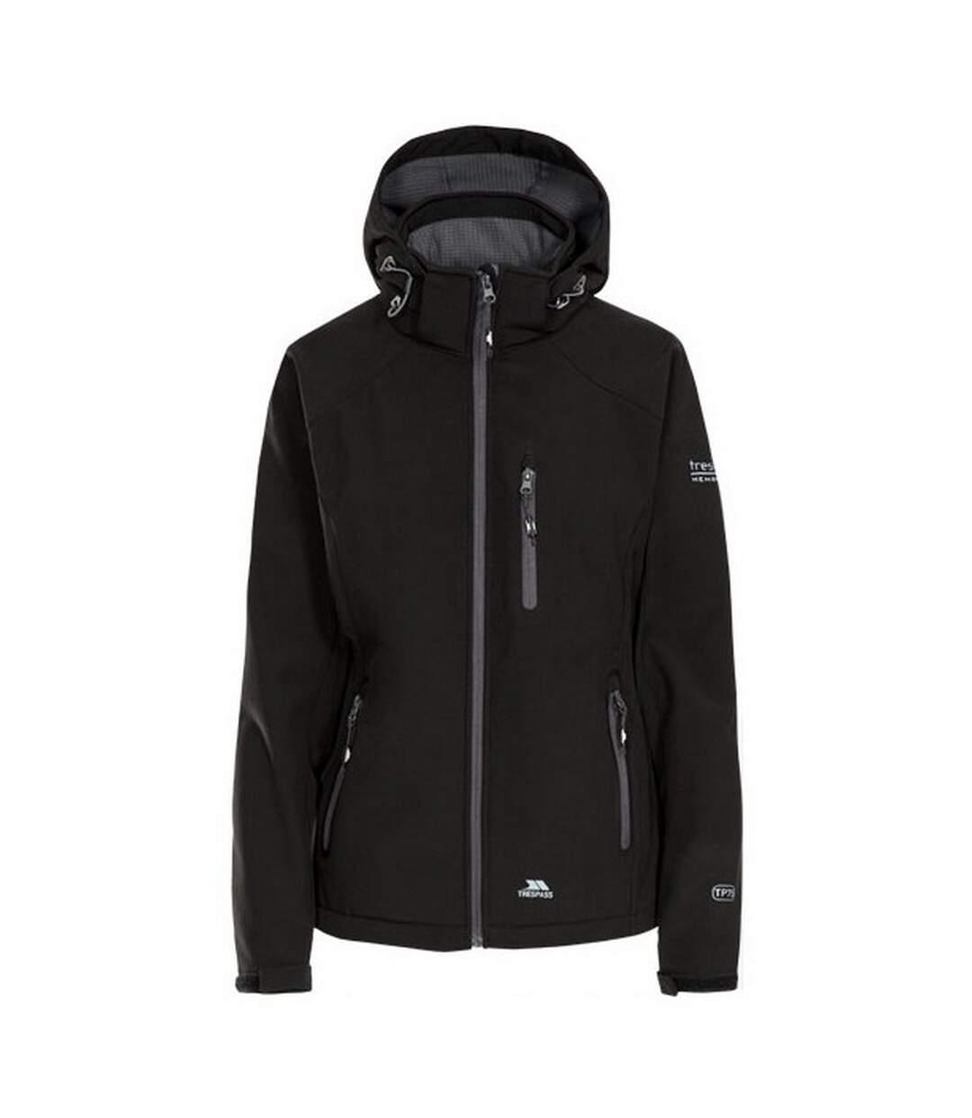 Trespass Womens/Ladies Bela II Waterproof Softshell Jacket (Black) - UTTP3440