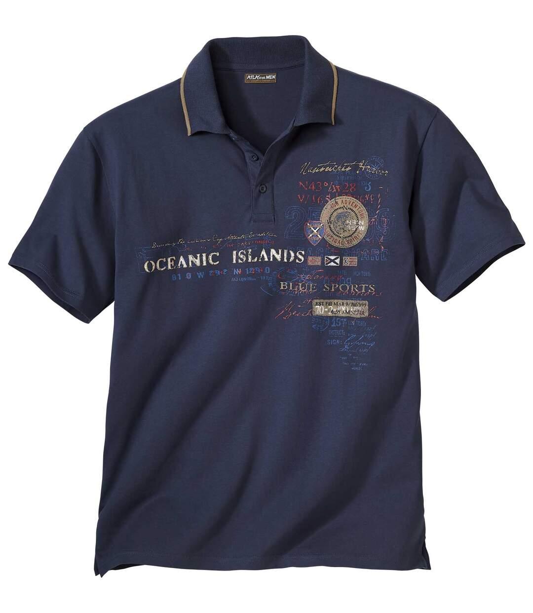Kurzärmeliges Poloshirt Oceanic Islands