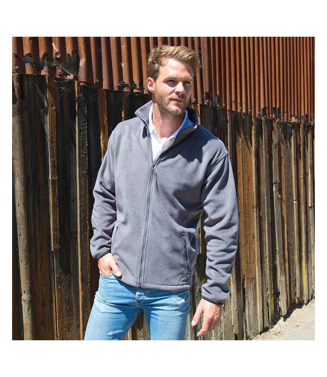 Result Mens Core Fashion Fit Outdoor Fleece Jacket (Pure Grey) - UTBC912