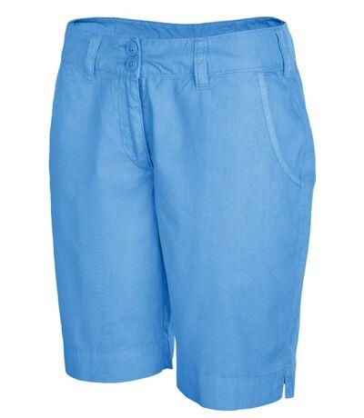 bermuda léger pour femme - K764 - bleu roi