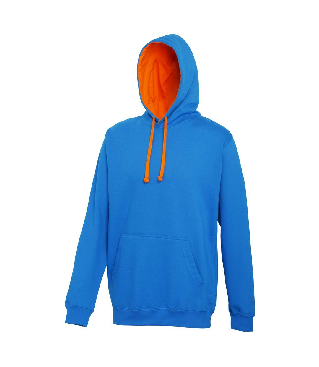 Awdis Varsity Hooded Sweatshirt / Hoodie (Charcoal/ Burgundy) - UTRW165