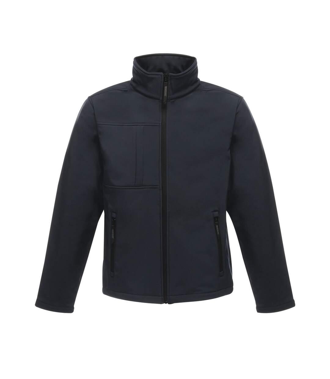 Regatta Professional Mens Octagon II Waterproof Softshell Jacket (Navy/Seal Grey) - UTRG2164