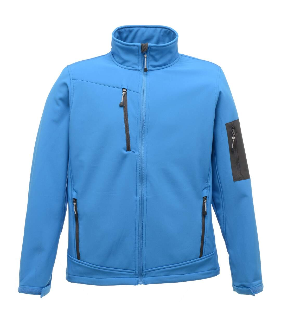 Regatta Standout Mens Arcola 3 Layer Waterproof And Breathable Softshell Jacket (French Blue/Seal Grey) - UTRG1461