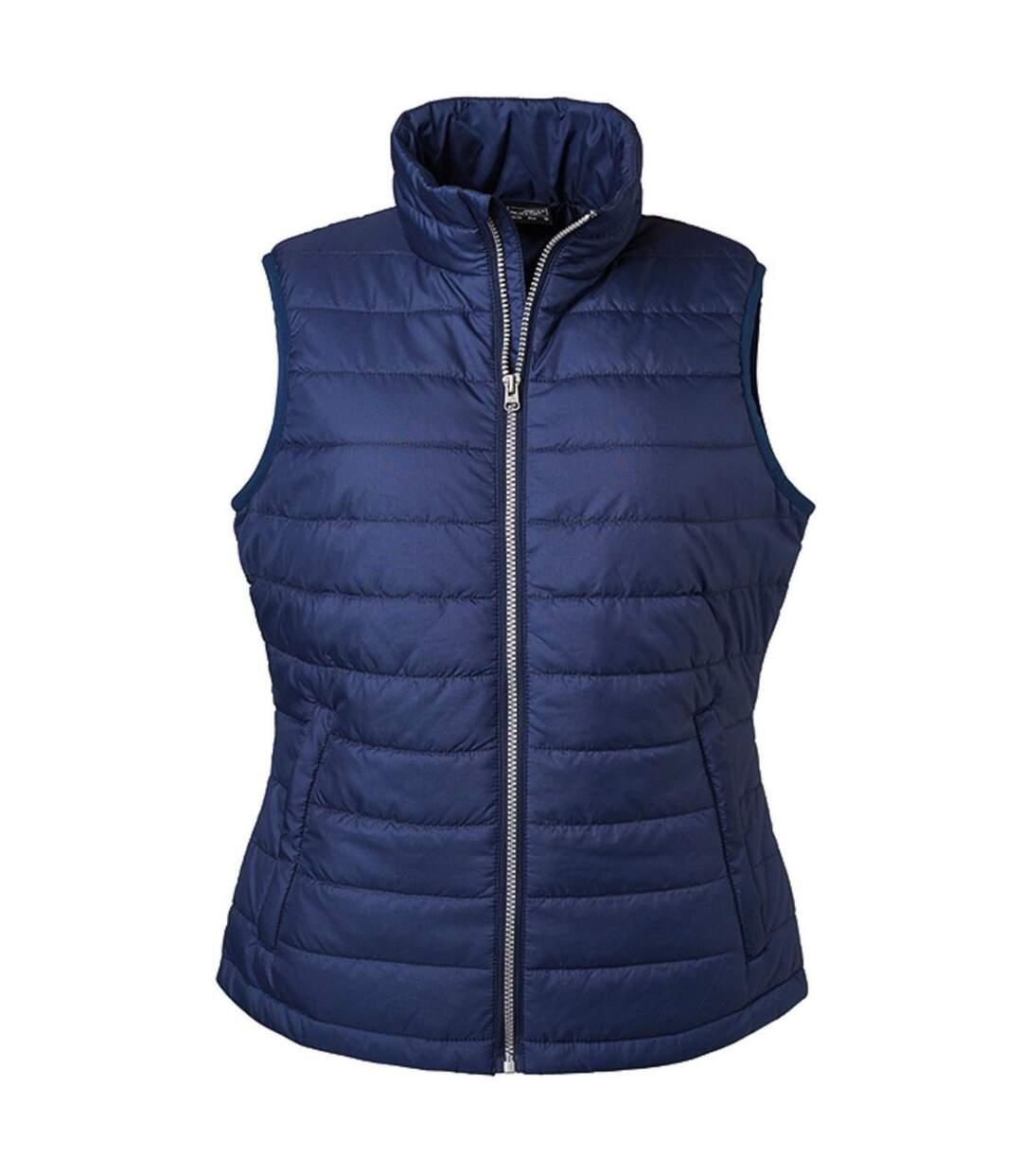 Bodywarmer gilet sans manches - JN1135 - bleu marine - Femme