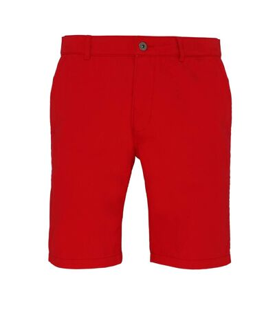 Asquith & Fox - Short style chino - Homme (Rouge) - UTRW4908