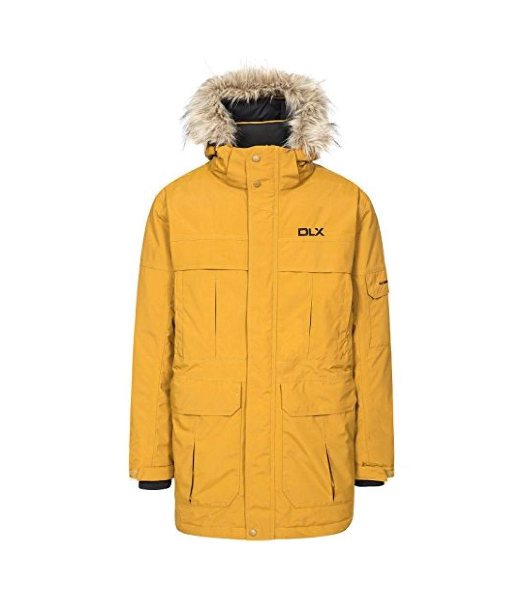 Trespass Mens Highland Waterproof Parka Jacket (Golden Brown) - UTTP1304