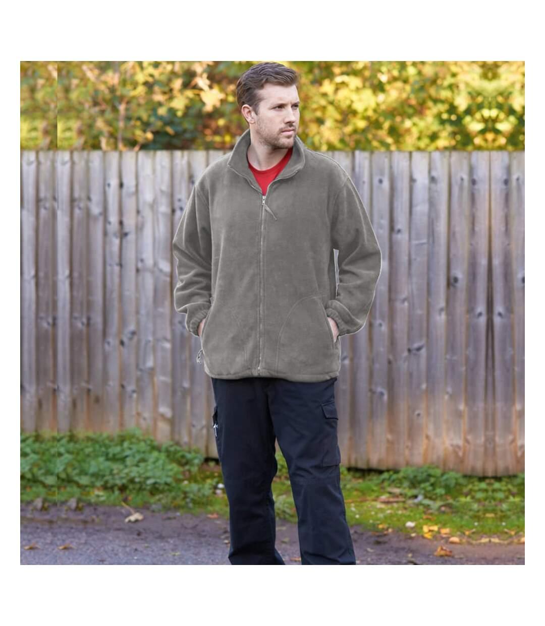 Portwest Mens Argyll Heavy Fleece Anti-Pill Jacket (F400) (Grey) - UTRW1026