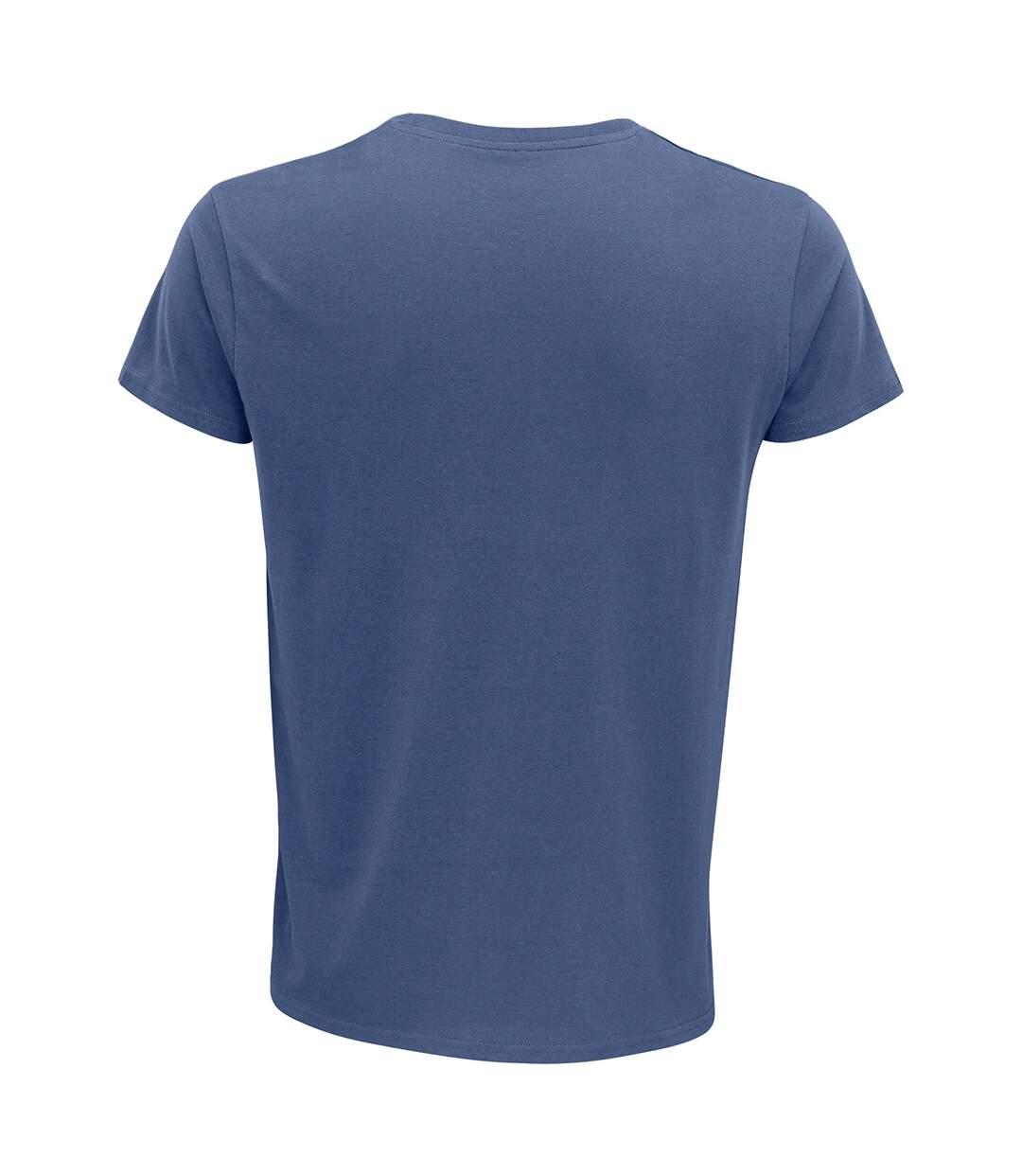 SOLS Mens Crusader Organic T-Shirt (Denim) - UTPC4316