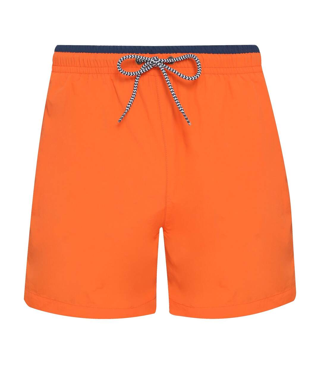 Asquith & Fox Mens Swim Shorts (Orange/Navy) - UTRW6242