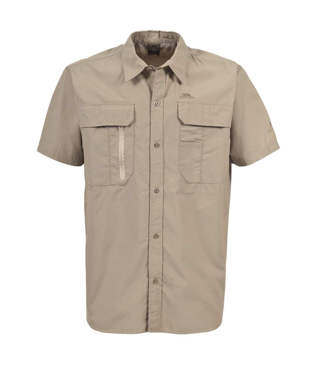 Trespass Mens Colly Short Sleeve Quick Dry Shirt (Bamboo) - UTTP331