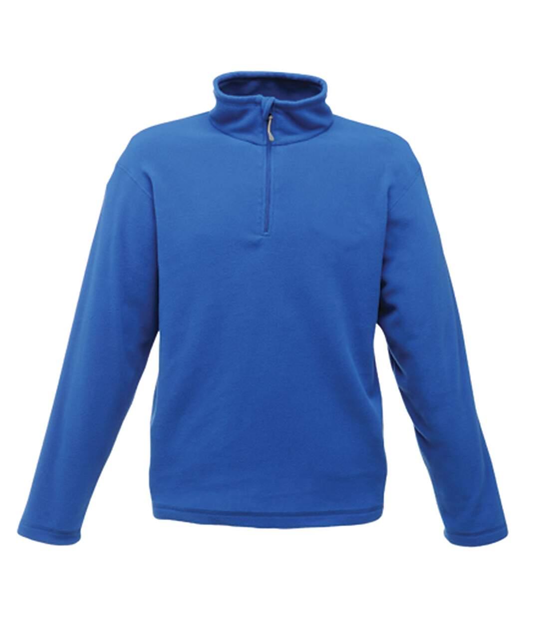 Regatta Mens Micro Zip Neck Fleece Top (Royal Blue) - UTRG1580