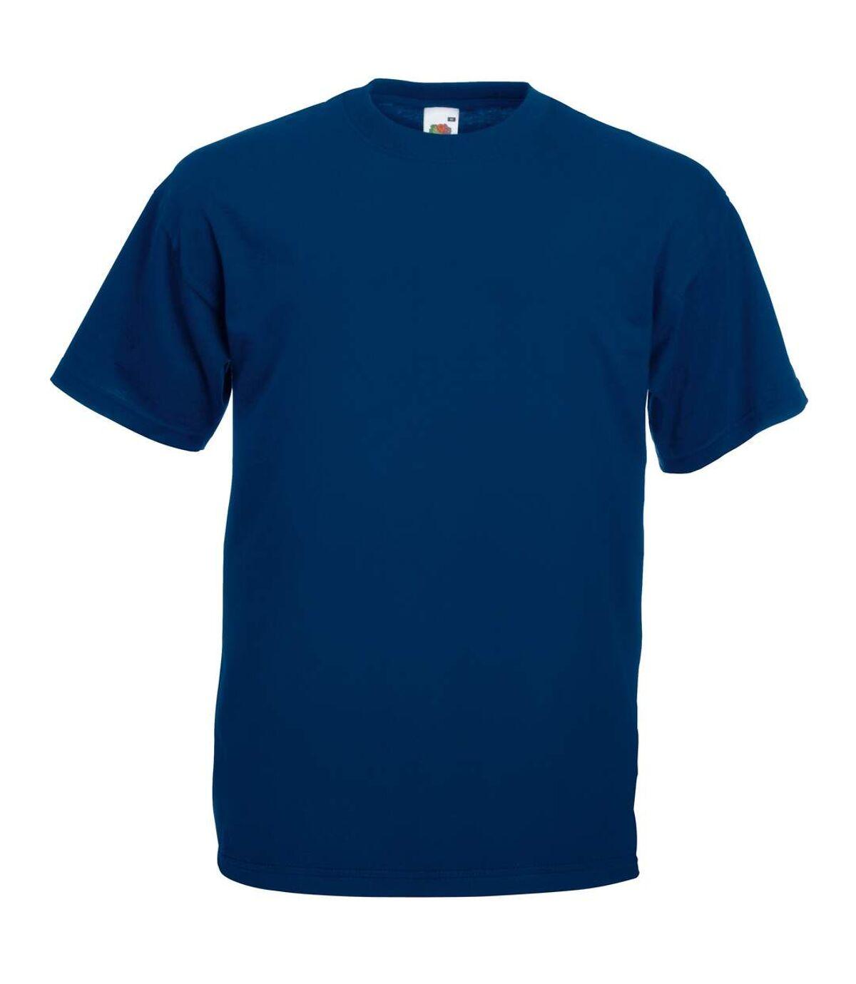 Fruit Of The Loom Mens Valueweight Short Sleeve T-Shirt (Navy) - UTBC330