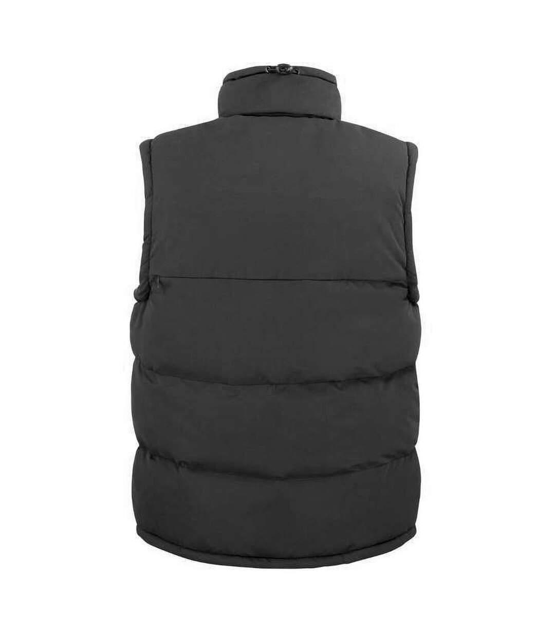 Result Mens Ultra Padded Bodywarmer Water Repellent Windproof Jacket (Black) - UTBC936