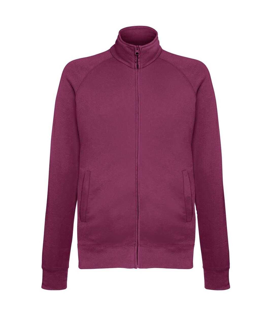 Fruit Of The Loom Mens Lightweight Full Zip Sweatshirt Jacket (Royal Blue) - UTRW4500