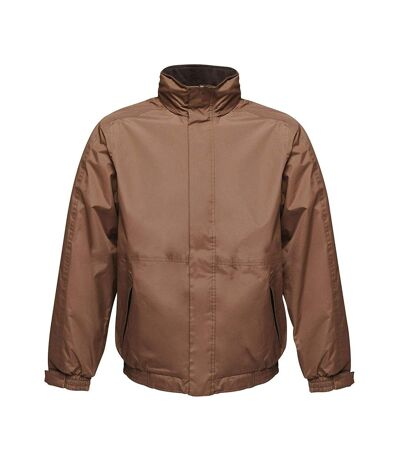 Regatta Dover Waterproof Windproof Jacket (Thermo-Guard Insulation) (Otter/Black) - UTBC839