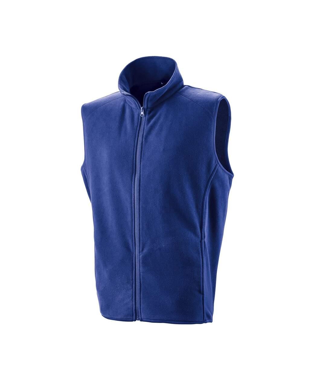Result Core Mens Micro Fleece Gilet (Royal) - UTPC3013
