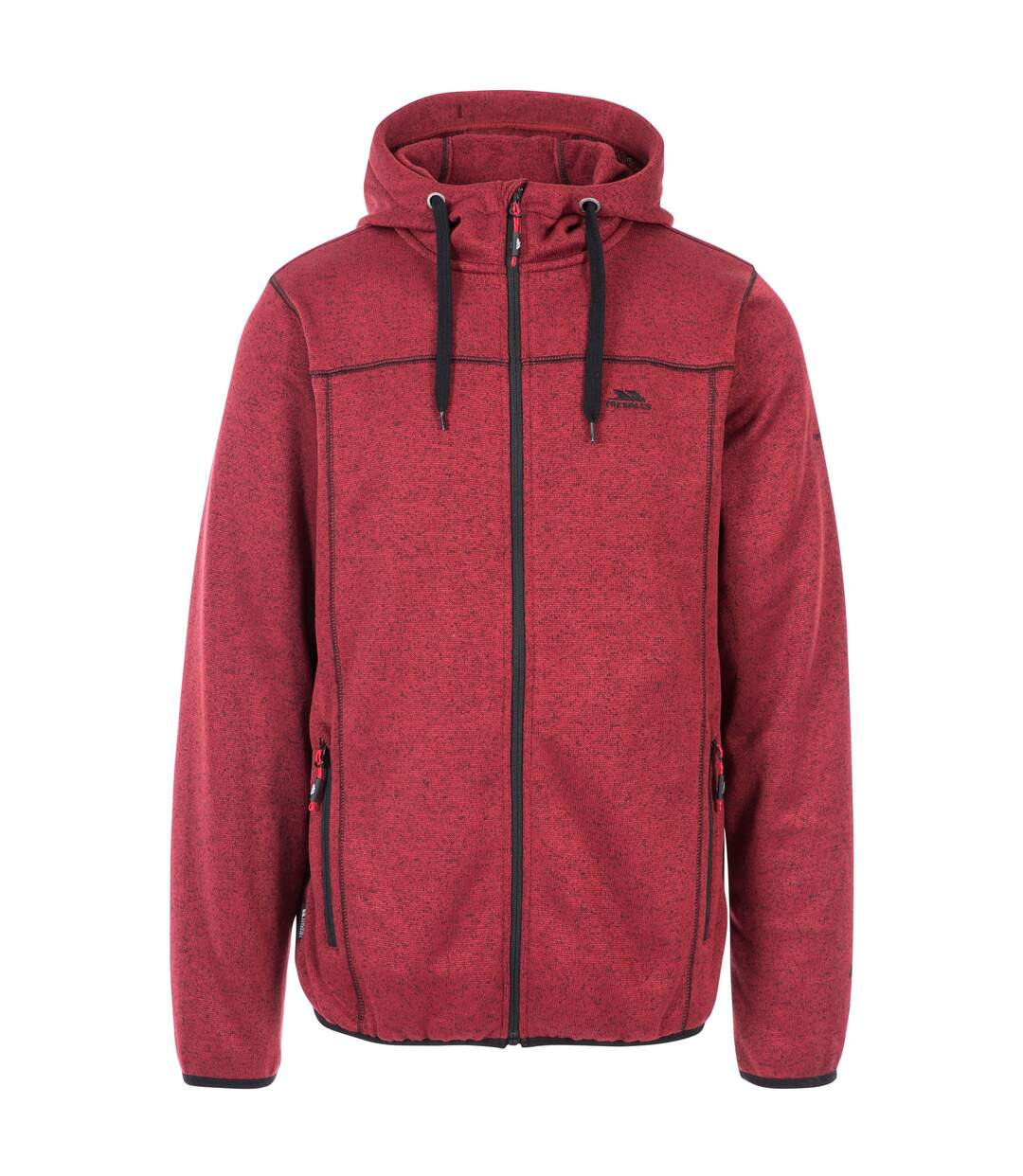 Trespass Mens Odeno Fleece Jacket (Merlot Marl) - UTTP4374
