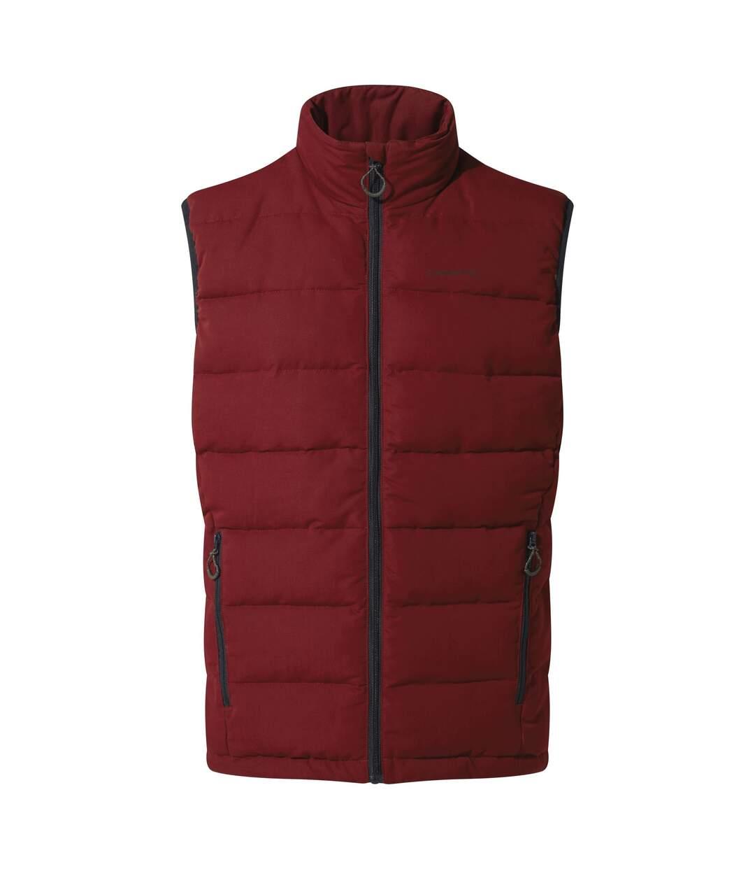 Craghoppers Mens Eldrick Downlike Vest (Firth Red/Platinum/Black) - UTCG1036