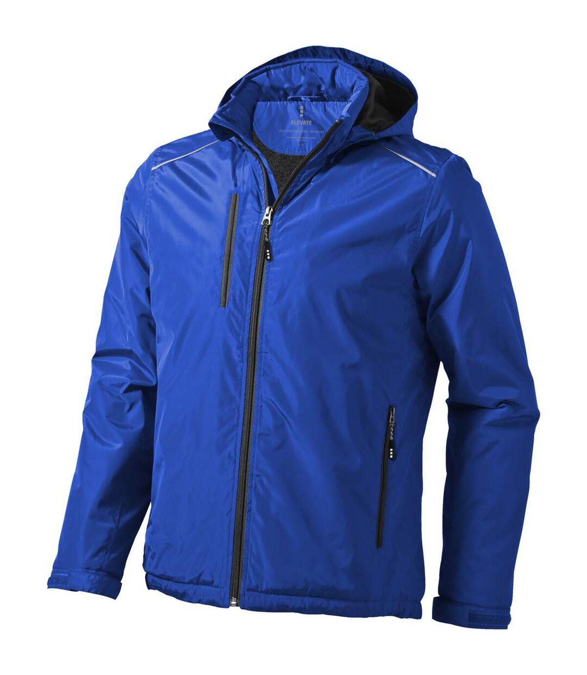 Elevate Mens Smithers Fleece Lined Jacket (Blue) - UTPF1909