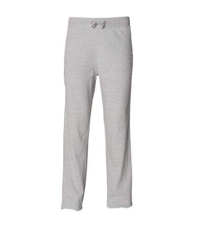 Skinni Fit Mens Sports Track Pants / Jog Bottoms (Heather Grey) - UTRW1408