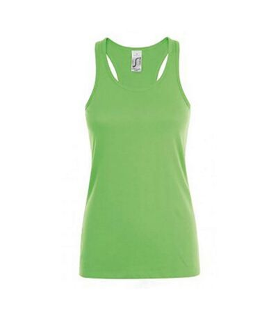 SOLS Womens/Ladies Justin Sleeveless Vest (Lime) - UTPC2793
