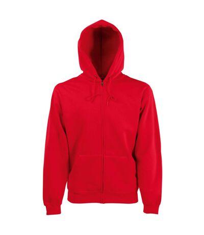 Fruit Of The Loom Mens Hooded Sweatshirt (Burgundy) - UTBC1369