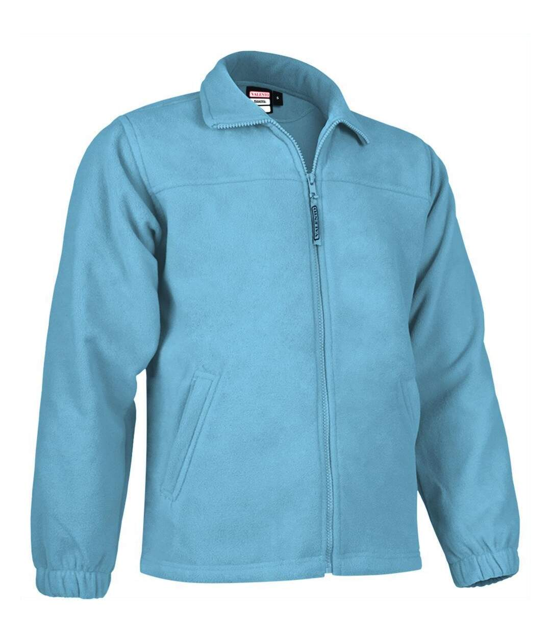 Veste polaire zippée - Homme - REF DAKOTA - bleu ciel