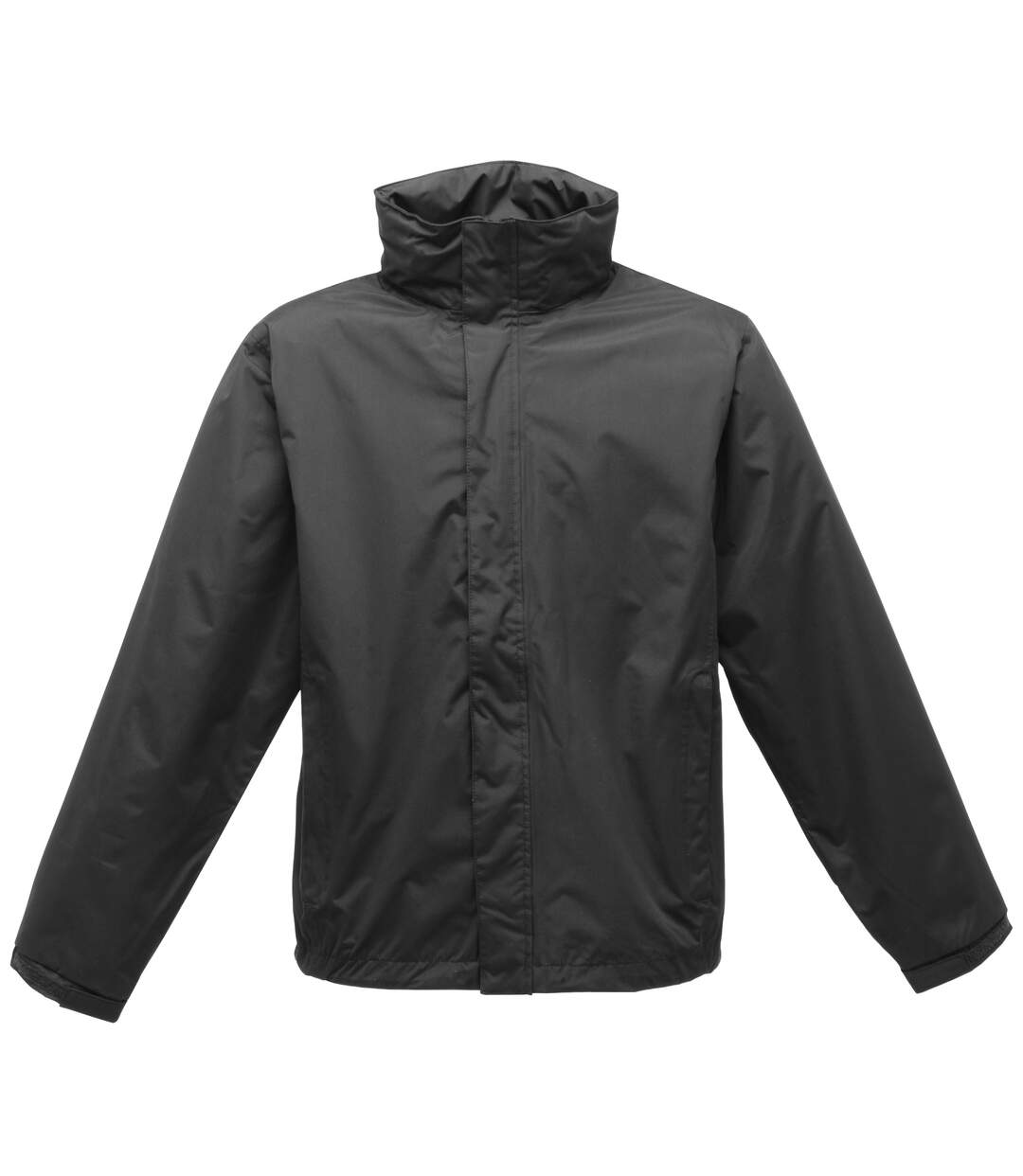 Regatta Mens Pace II Lightweight Waterproof Jacket (Black/Black) - UTBC1495