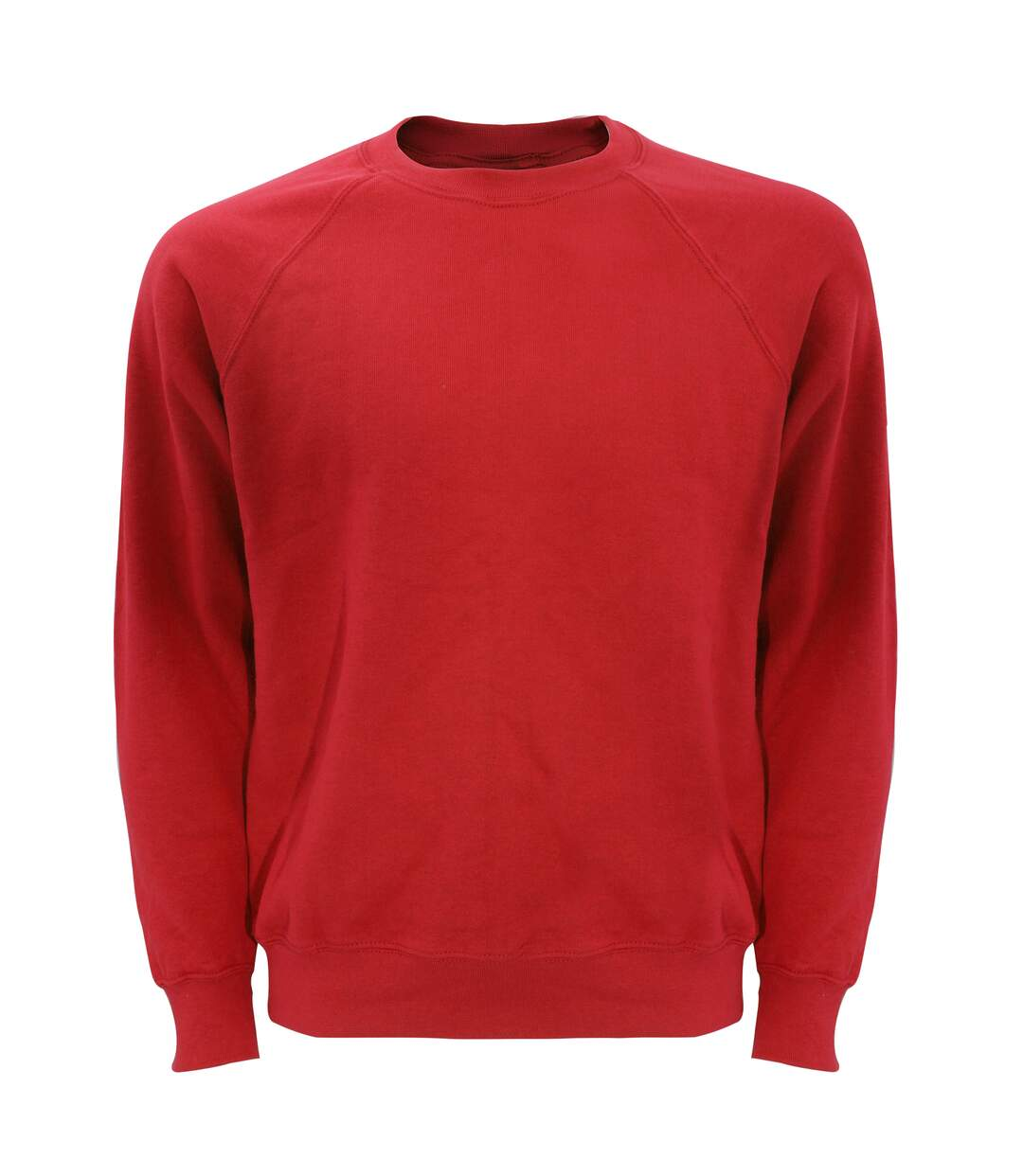Fruit Of The Loom Mens Raglan Sleeve Belcoro® Sweatshirt (Red) - UTBC368