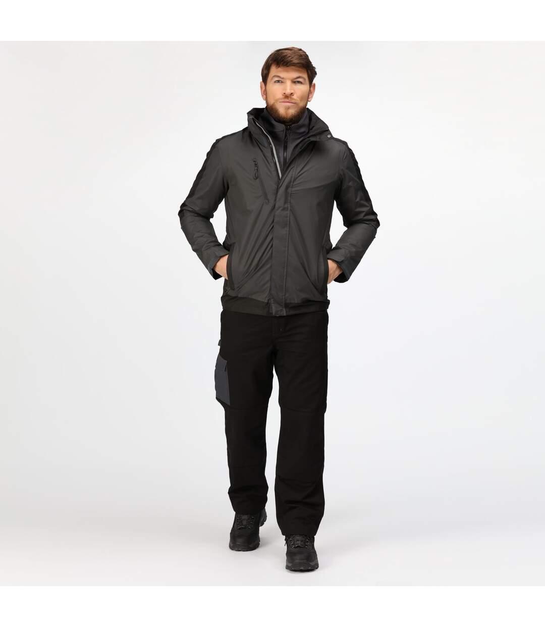 Regatta Mens Contrast 3 In 1 Jacket (New Royal Blue/Navy) - UTRG4095
