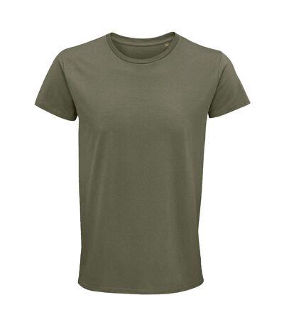 SOLS Mens Crusader Organic T-Shirt (Khaki) - UTPC4316