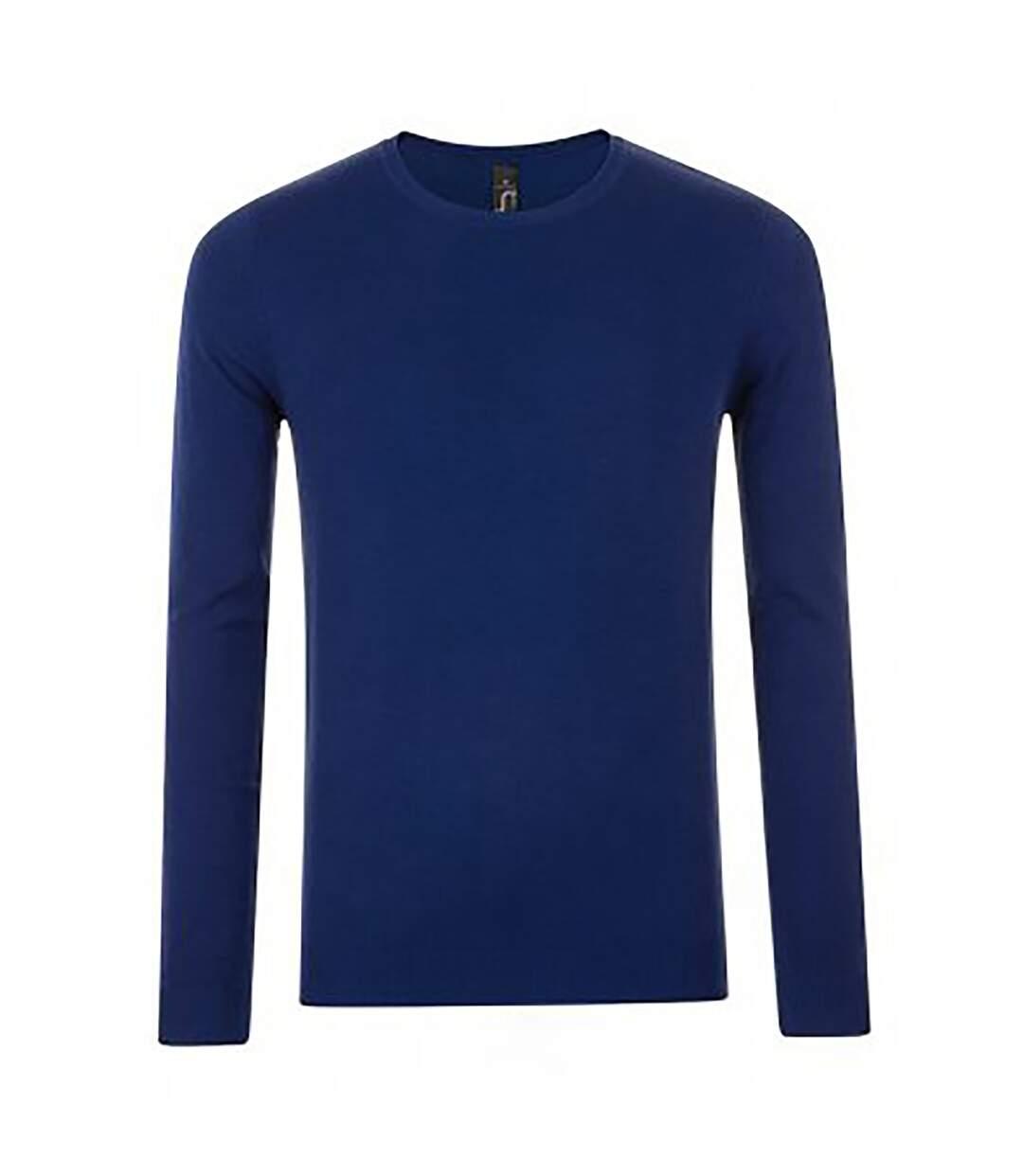 SOLS Mens Ginger Crew Neck Sweater (Black) - UTPC2831