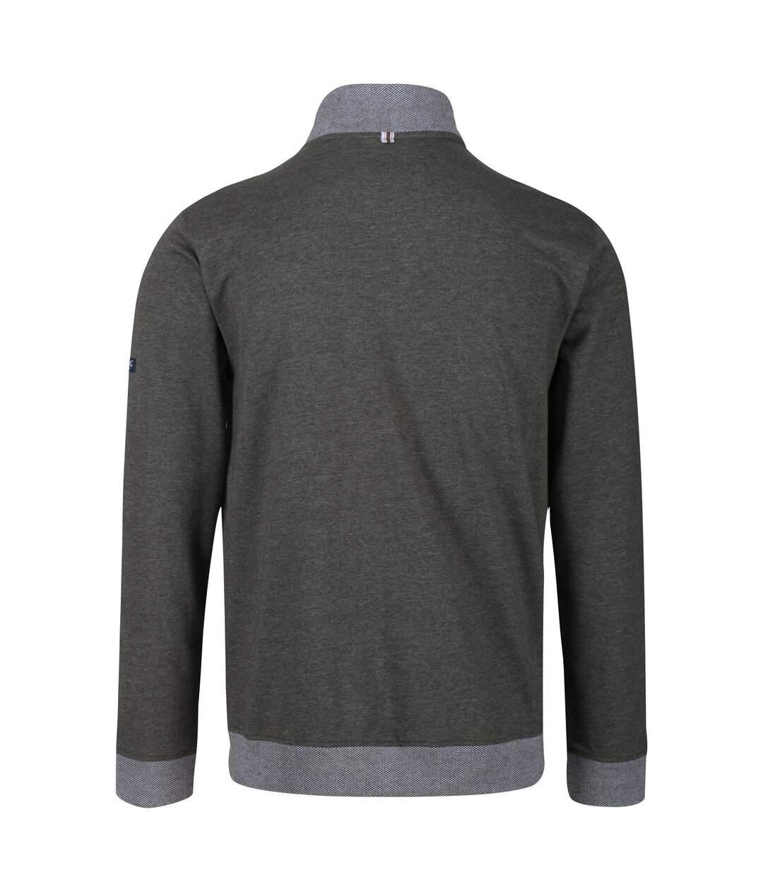 Regatta Mens Everard Full Zip Fleece (Dark Khaki) - UTRG5048