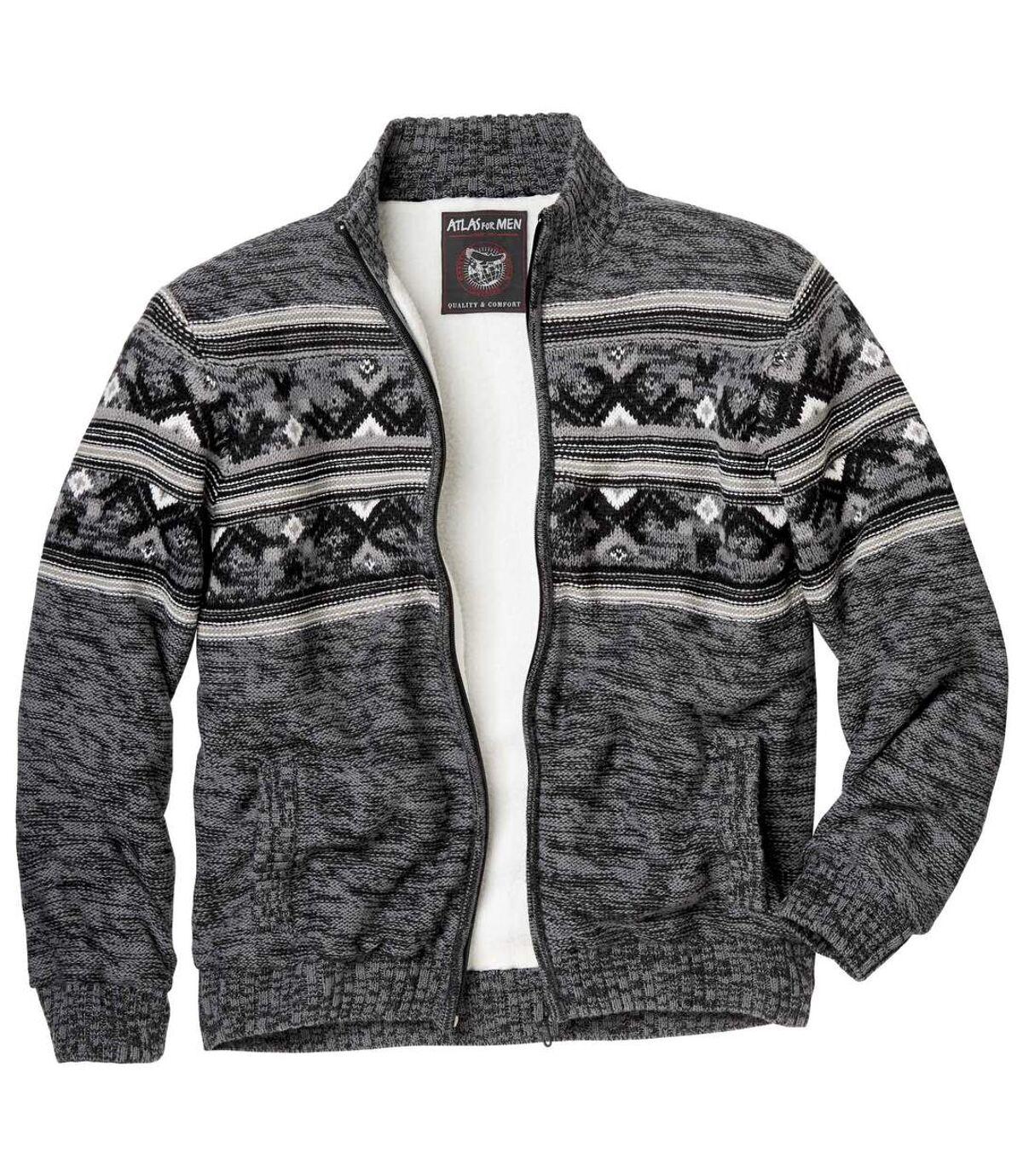 Men's Sherpa-Lined Full Zip Jacket Atlas For Men