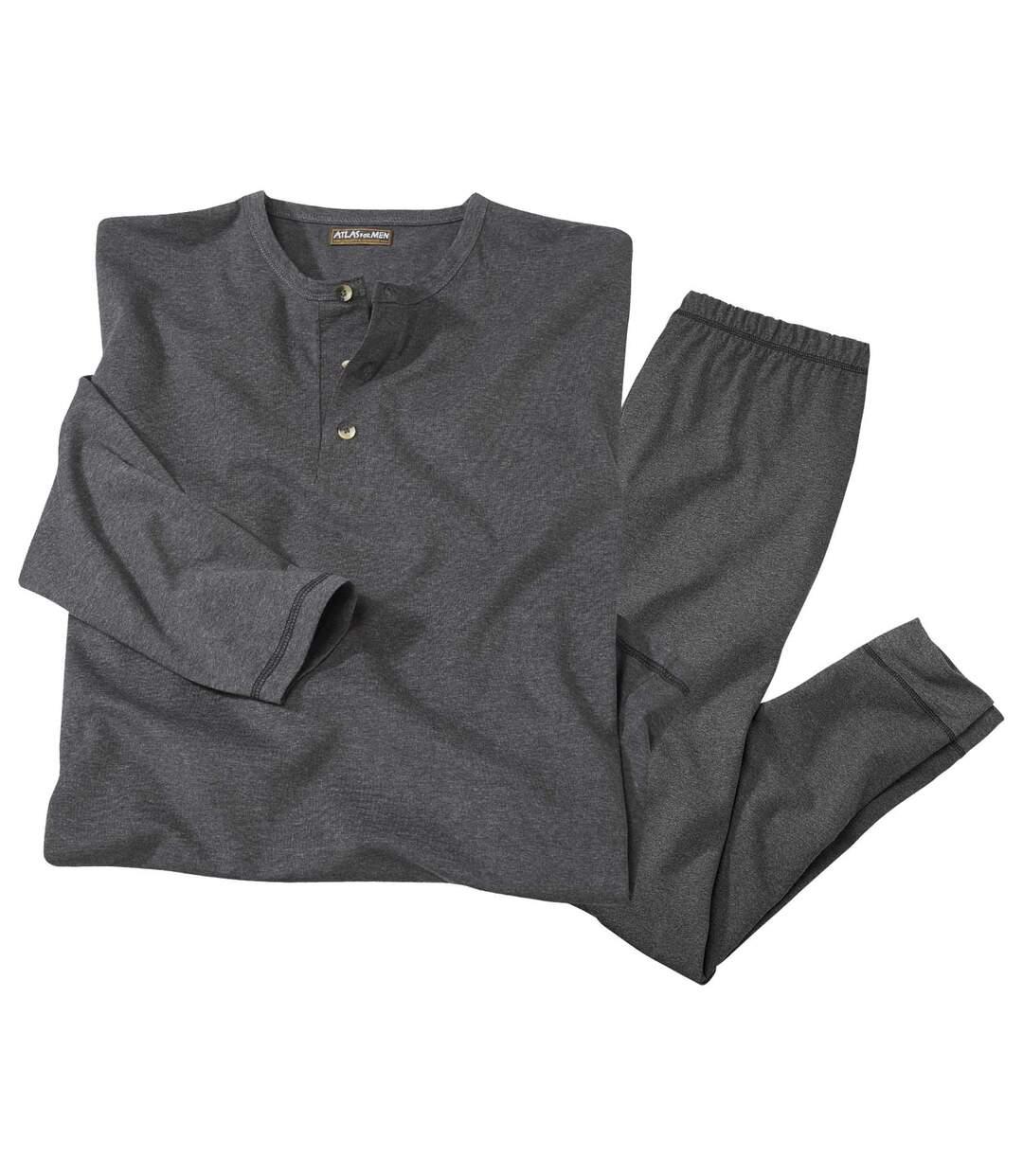 Men's Grey Thermal Loungewear