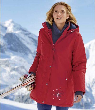Skijacke mit Kapuze