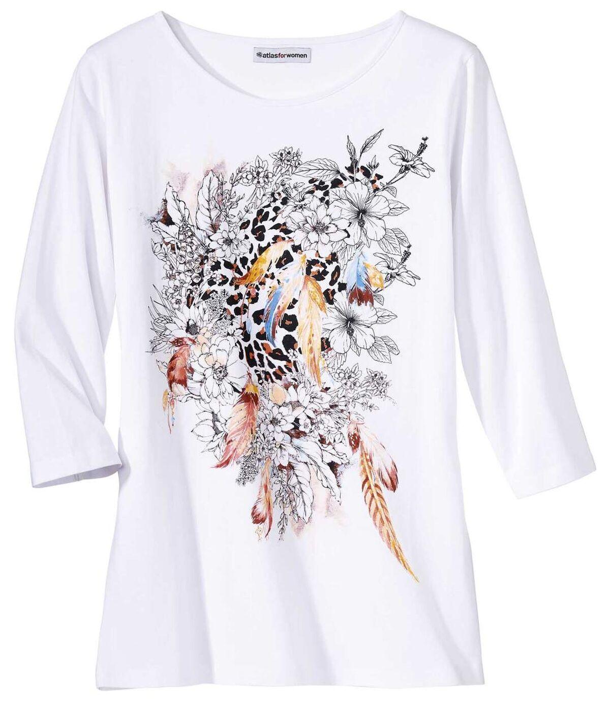 Tee-Shirt Imprimé Fantaisie  Atlas For Men