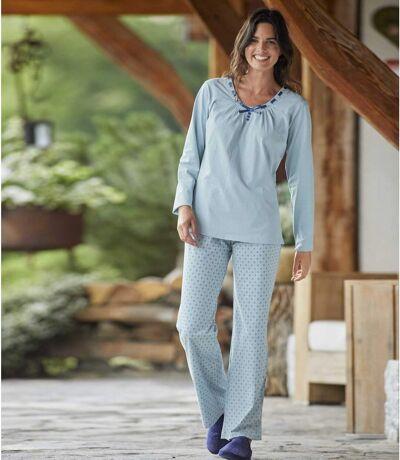 Blauer Pyjama Phantasie