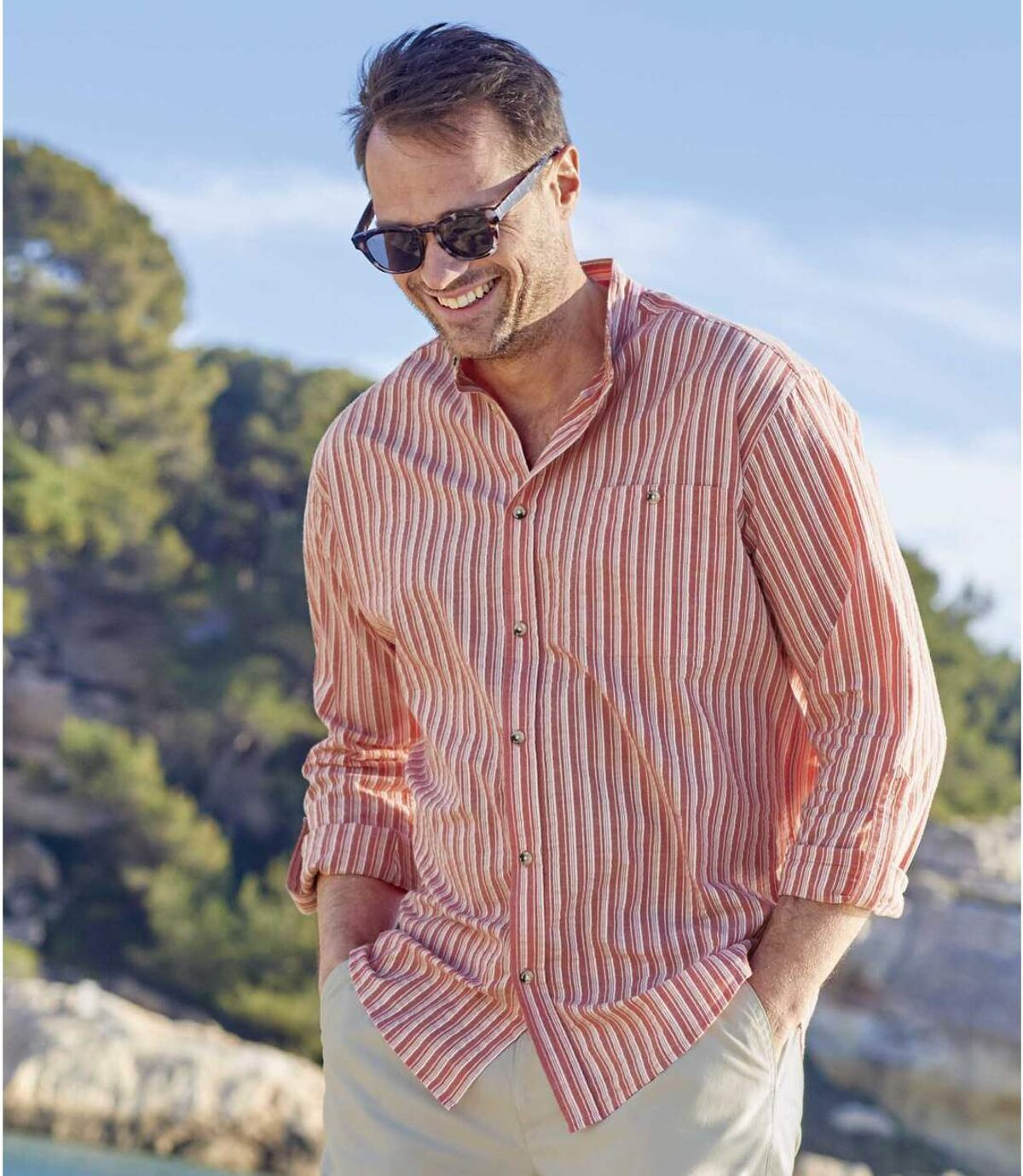 Letná košeľa Ibiza Atlas For Men