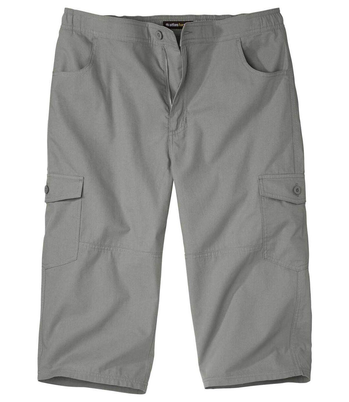 Trojštvrťové praktické nohavice Cargo Atlas For Men