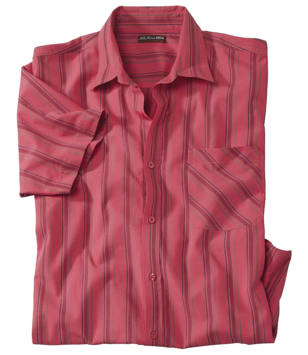 Men's Coral Short Sleeve Shirt - Palm Sun