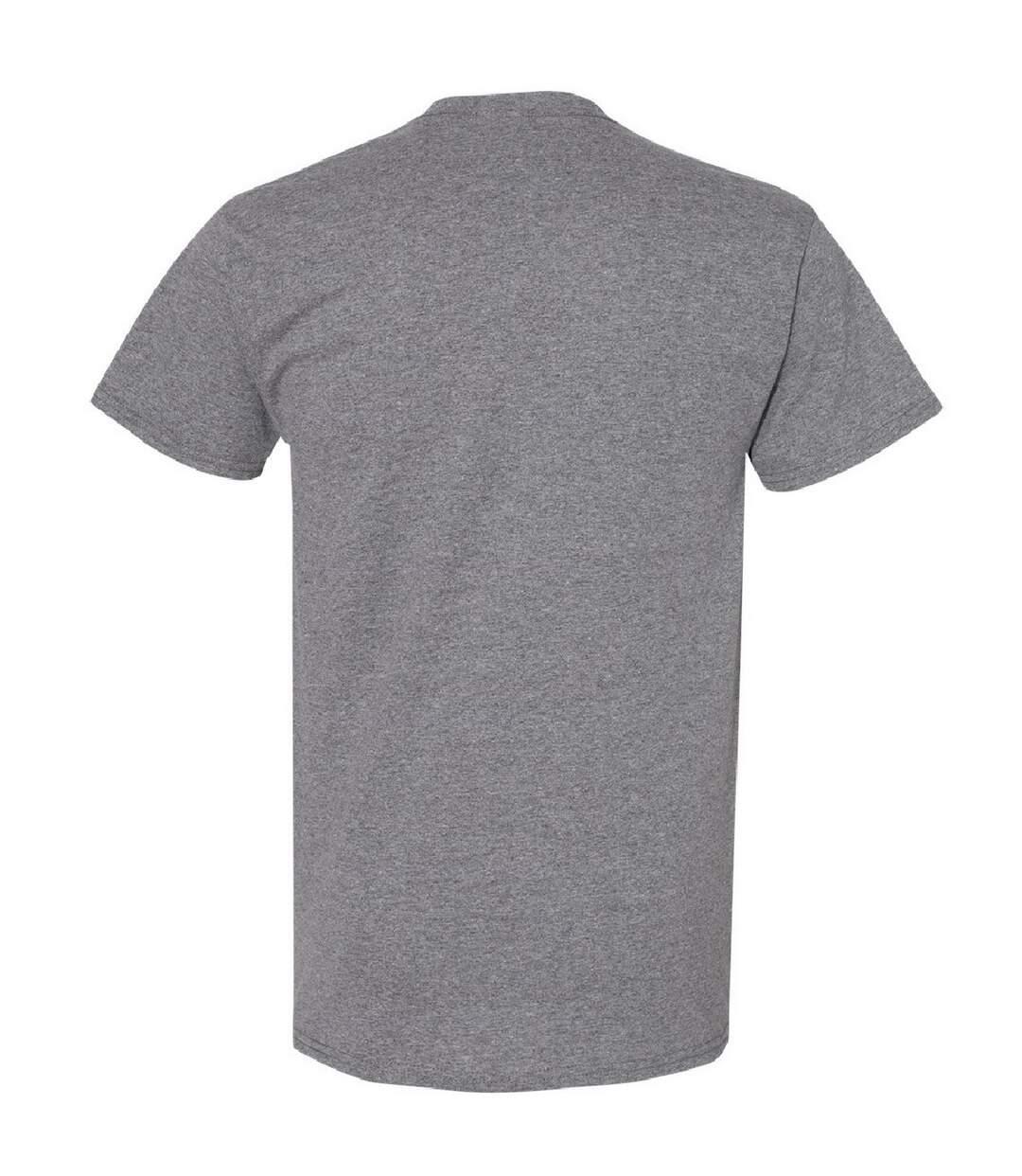 Gildan Mens Heavy Cotton Short Sleeve T-Shirt (Graphite Heather) - UTBC481
