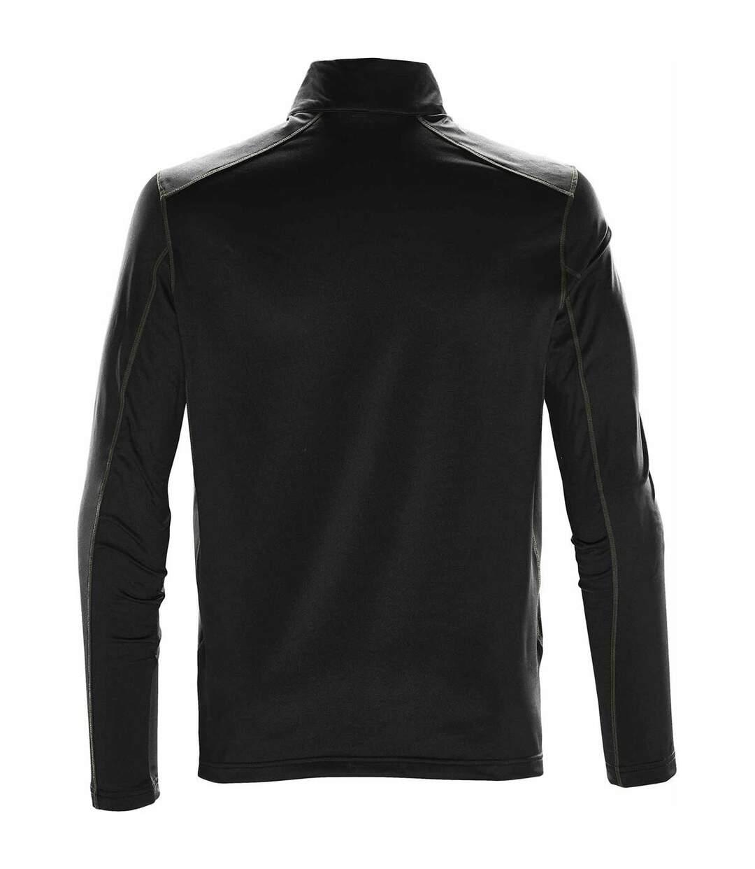 Stormtech Mens Pulse Fleece Pullover (Black/Carbon) - UTBC4121