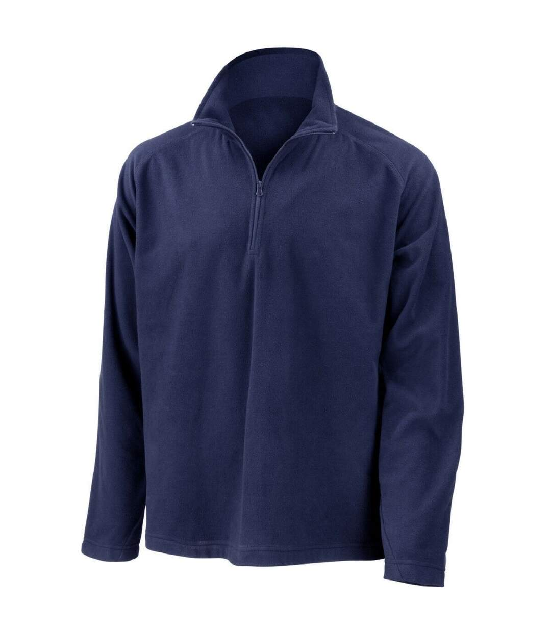 Result Mens Core Micron Anti-Pill Fleece Top (Navy Blue) - UTBC849