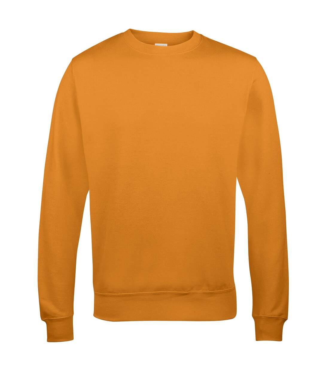 AWDis Just Hoods AWDis Unisex Crew Neck Plain Sweatshirt (280 GSM) (Steel Grey) - UTRW2014
