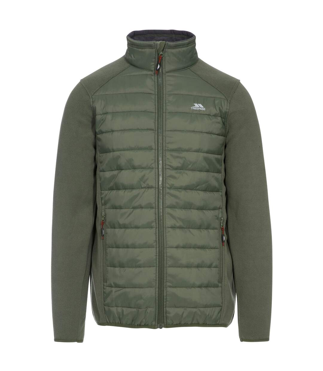 Trespass Mens Saunter Full Zip Fleece Jacket (Basil) - UTTP3564