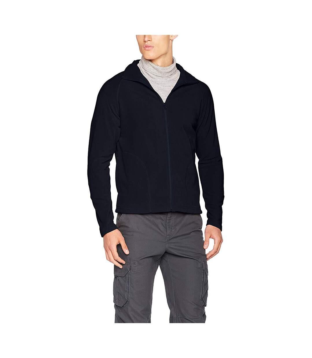 Result Core Mens Micron Anti Pill Fleece Jacket (Navy Blue) - UTBC852